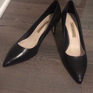 Zara 100% leather heels